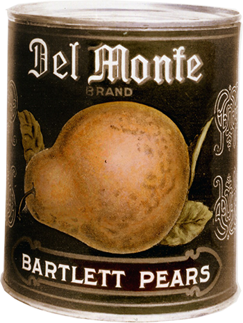The Del Monte Three-Piece Can
