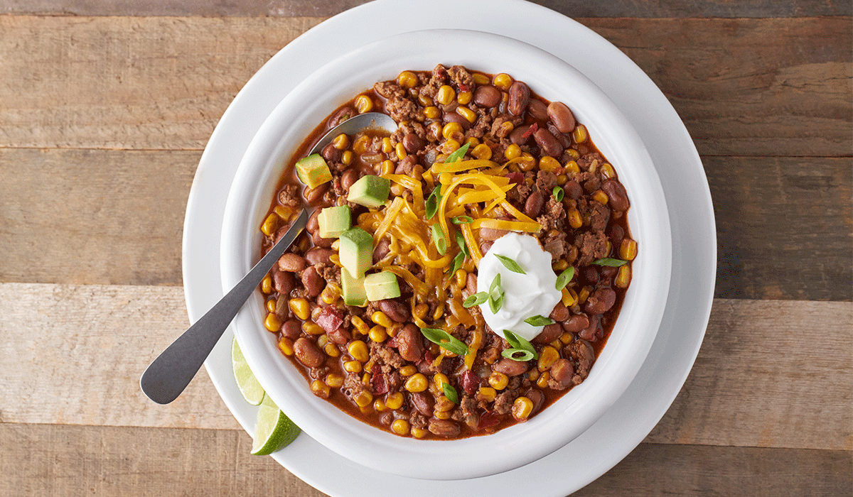 Chili with Beans and Corn