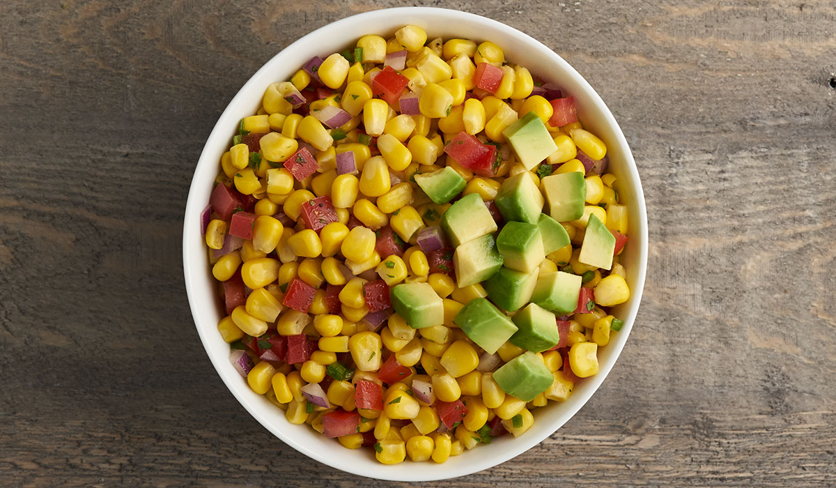 Sides in 5: Corn Salsa