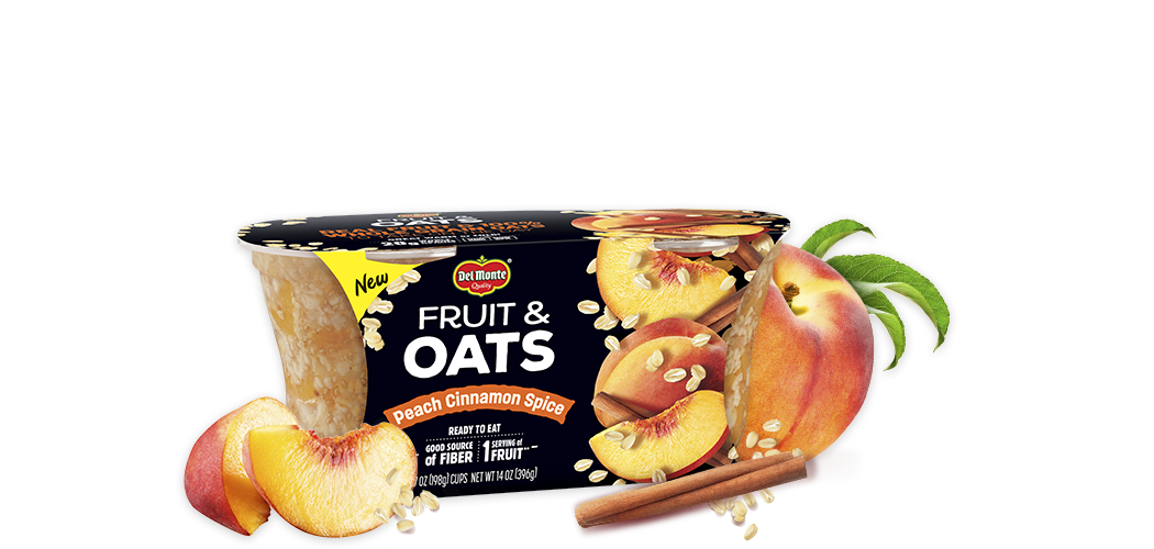 Fruit and Oats Peach Cinnamon