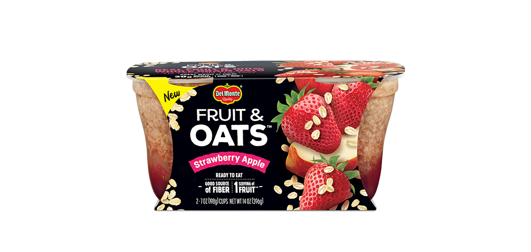 Del Monte® Fruit & Oats™ Strawberry Apple