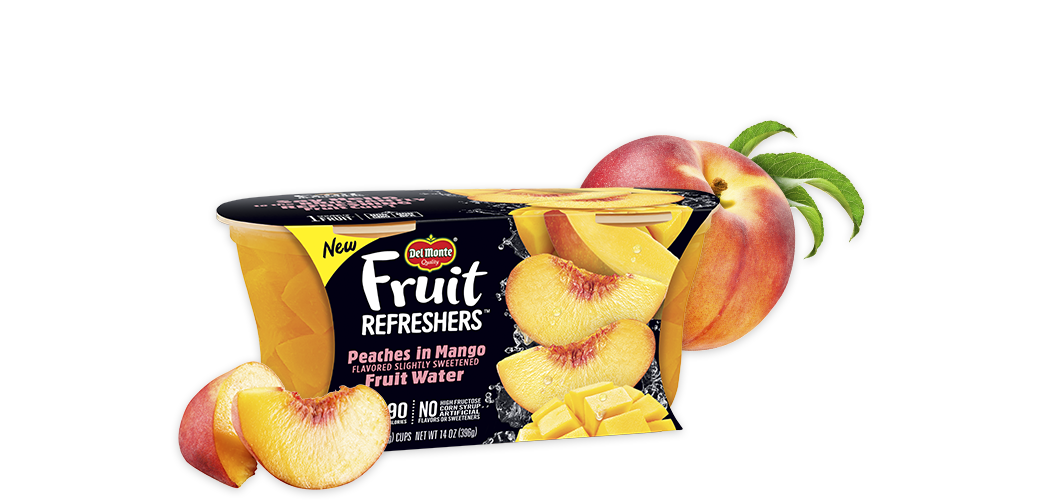 Fruit Refreshers Peaches in Mango Fruit Water