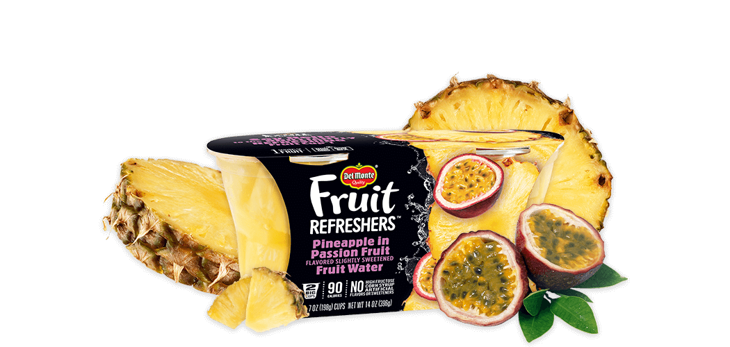 Fruit Refreshers® Pineapple in Passion Fruit Flavored Slightly Sweetened Fruit Water