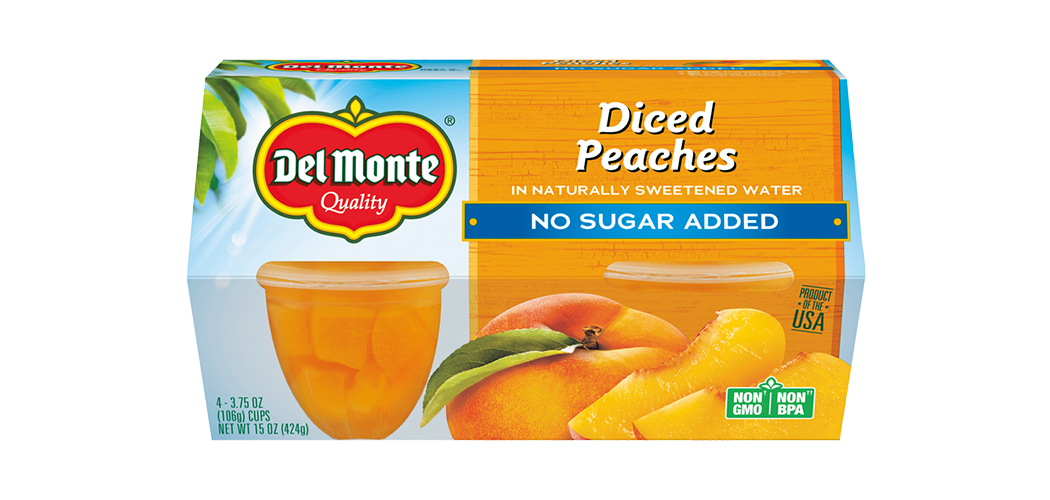 Peaches - No Sugar Added, Fruit Cup® Snacks