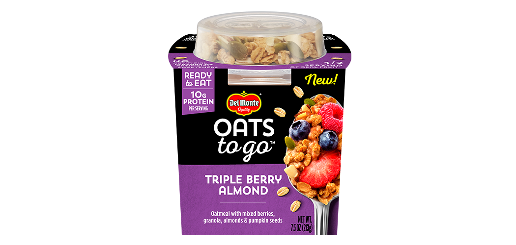 Oats To Go Triple Berry Almond