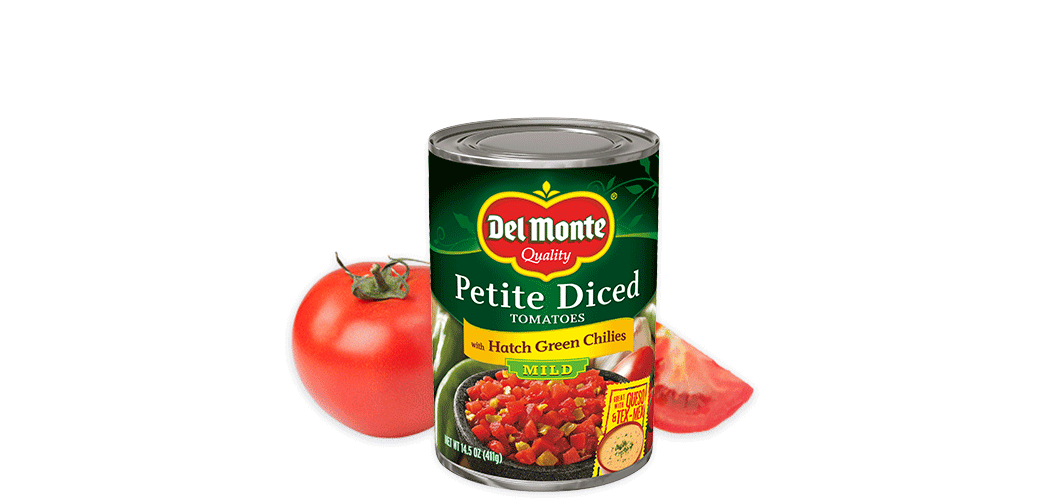 Petite Cut® Diced Tomatoes with Green Chilies