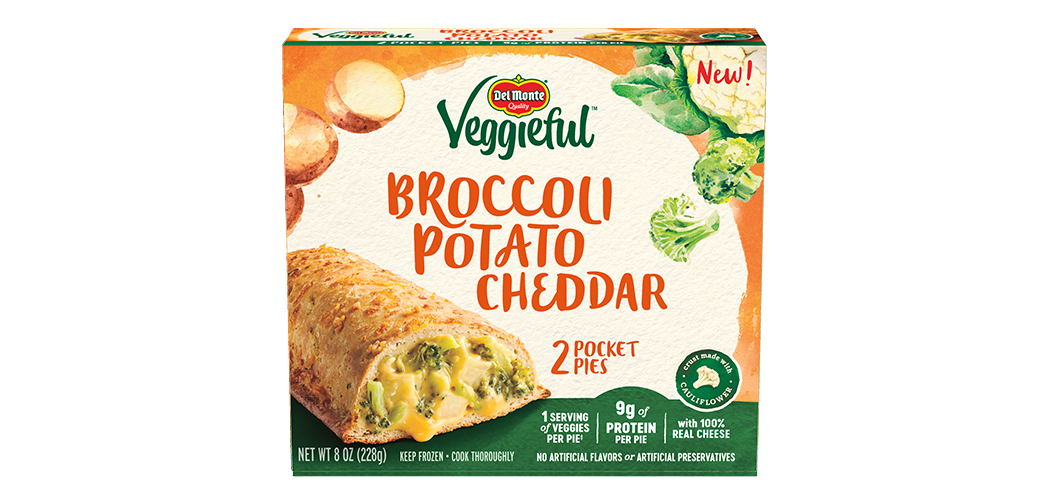 Broccoli Potato Cheddar Pocket Pies