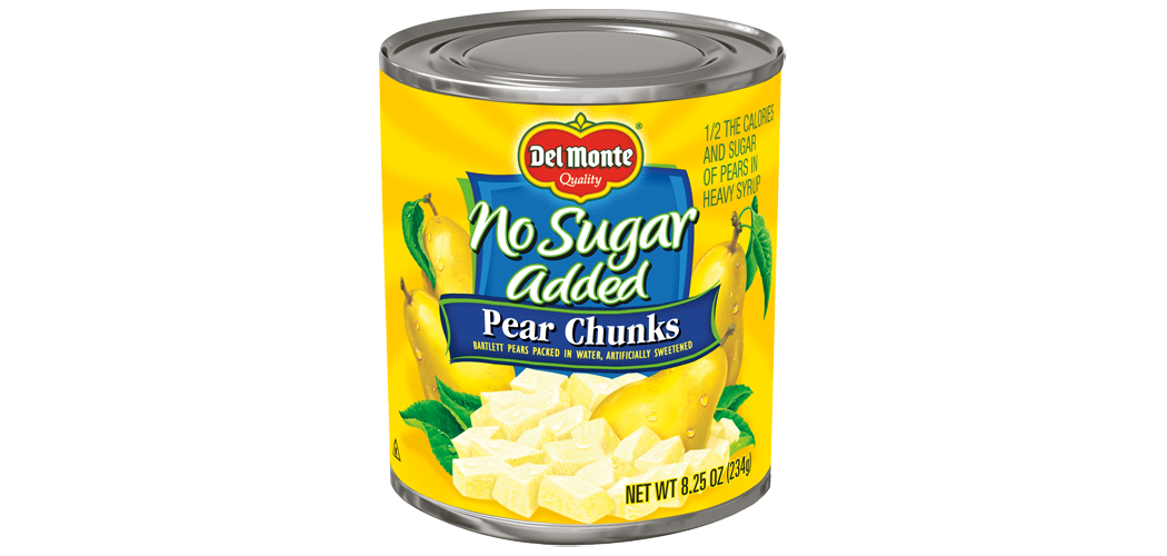 Pear Chunks - No Sugar Added