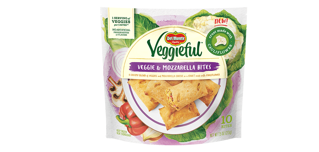 Veggieful Veggie and Mozzarella Bites