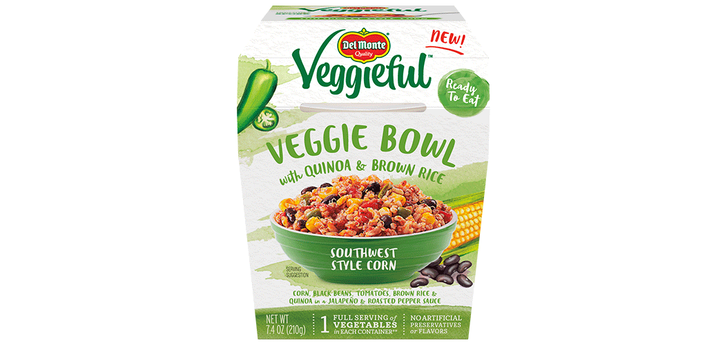 New Veggieful Bowls Del Monte Foods Inc