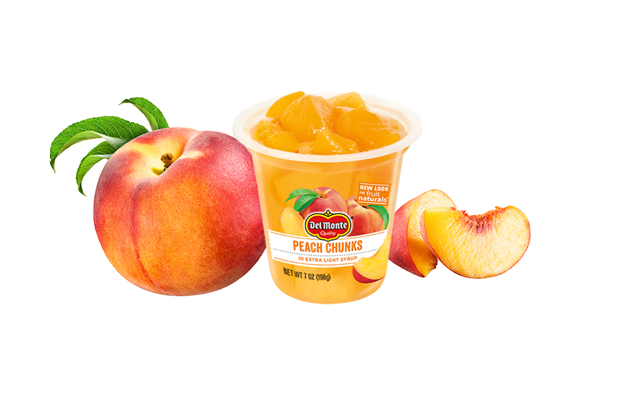 Fruit Naturals® Yellow Cling Peach Chunks