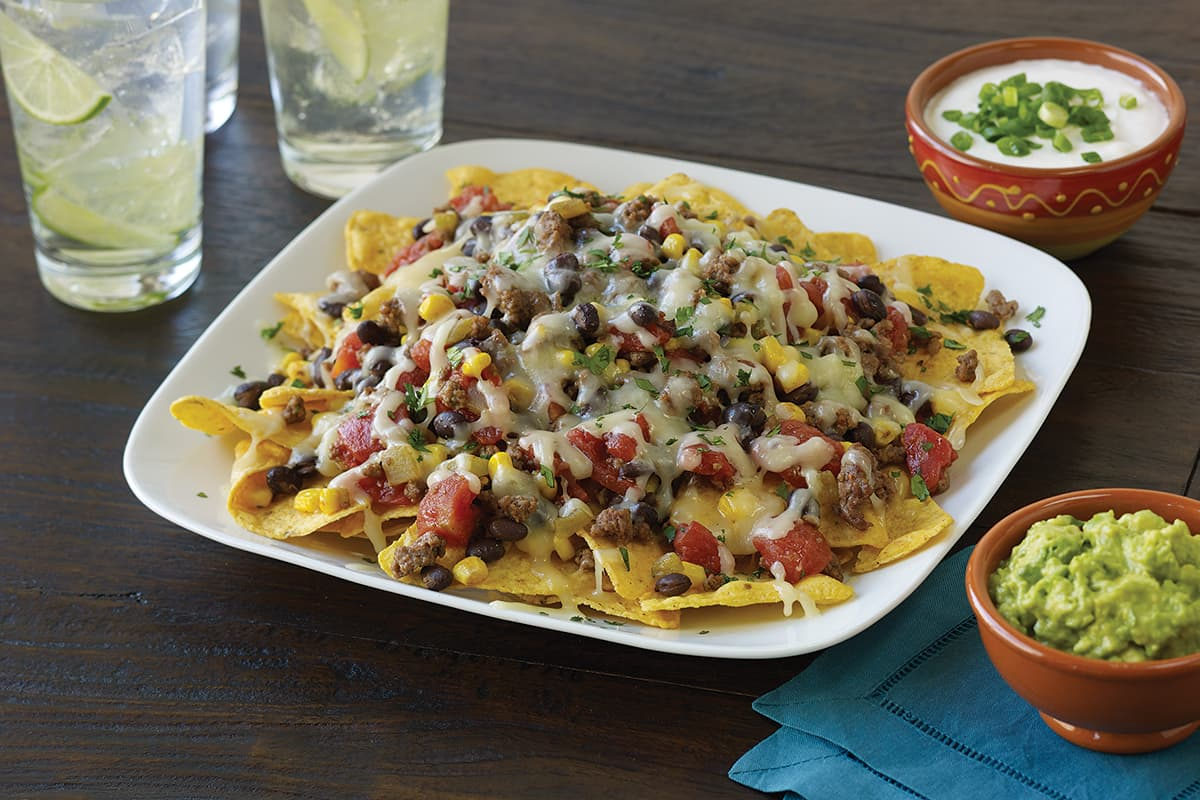 Beef Nachos Recipe Instructions Del Monte Foods Inc