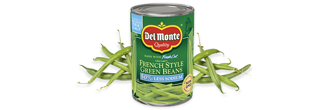 Blue Lake® French Style Green Beans - Low Sodium