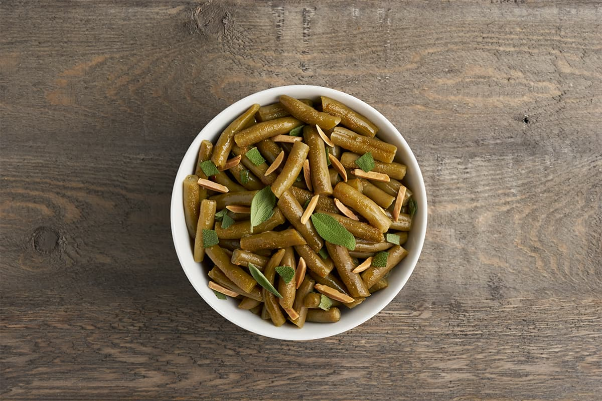 Sides in 5: Brown Butter Sage Green Beans