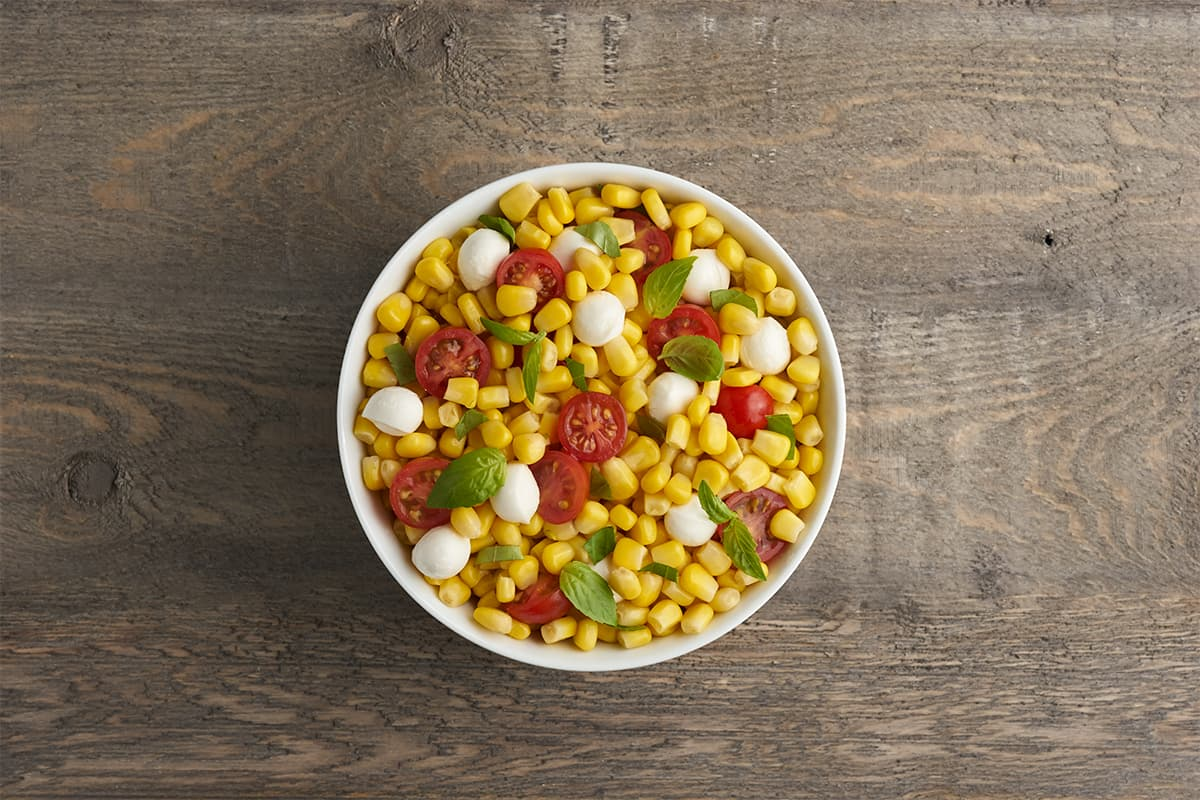 Sides in 5: Caprese Corn