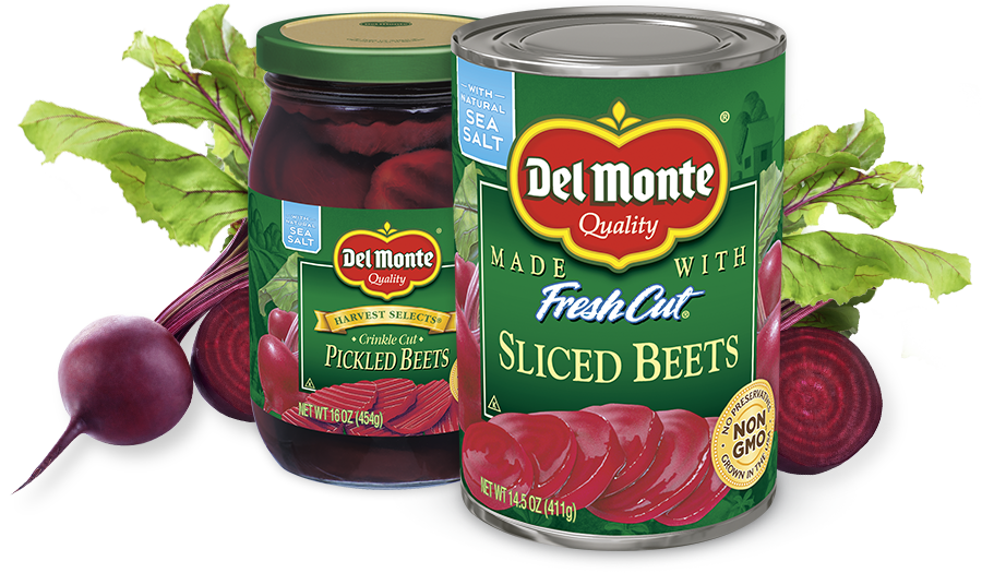 Del Monte Canned Beets