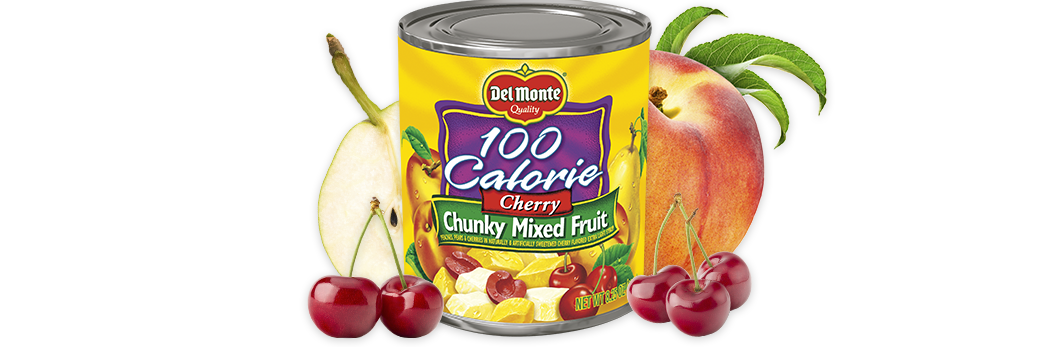 Cherry Mixed Fruit - 100 Calories
