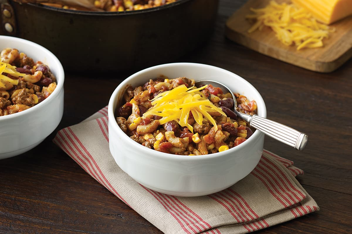 Skillet Chili Mac America S Test Kitchen