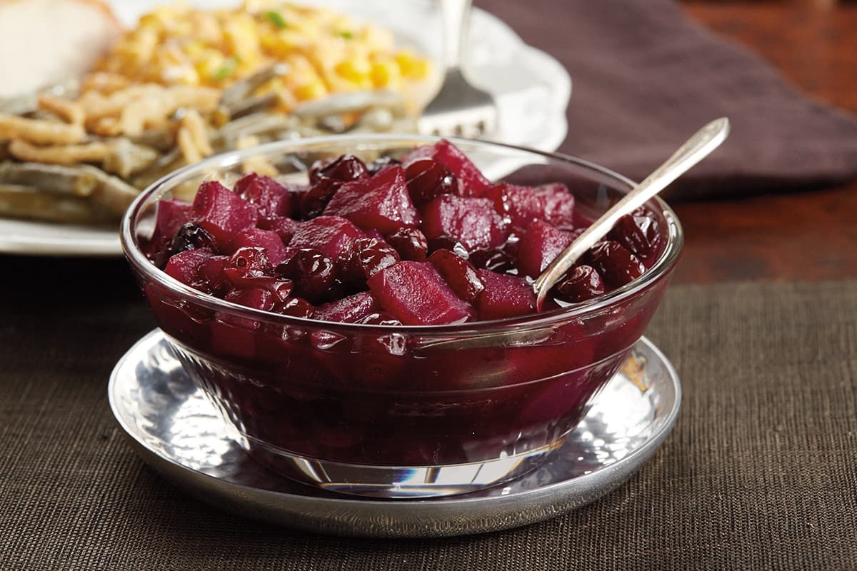 Cinnamon Cranberry Pear Sauce