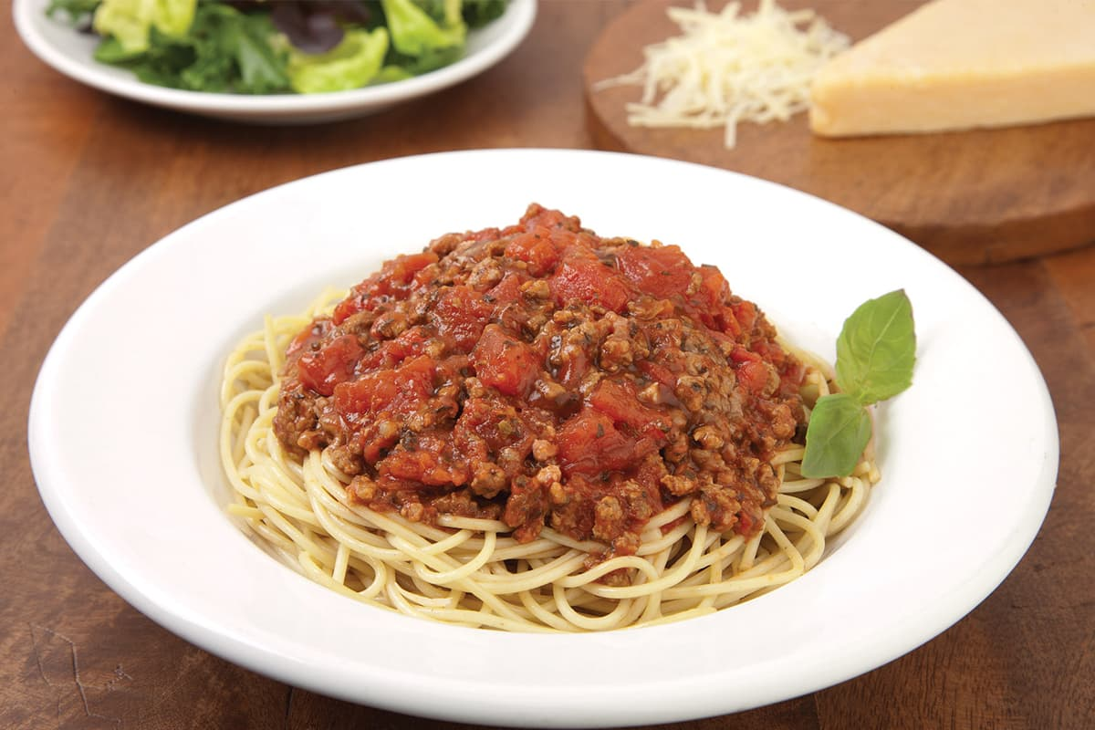 Sauce for spaghetti and its invaluable palatability
