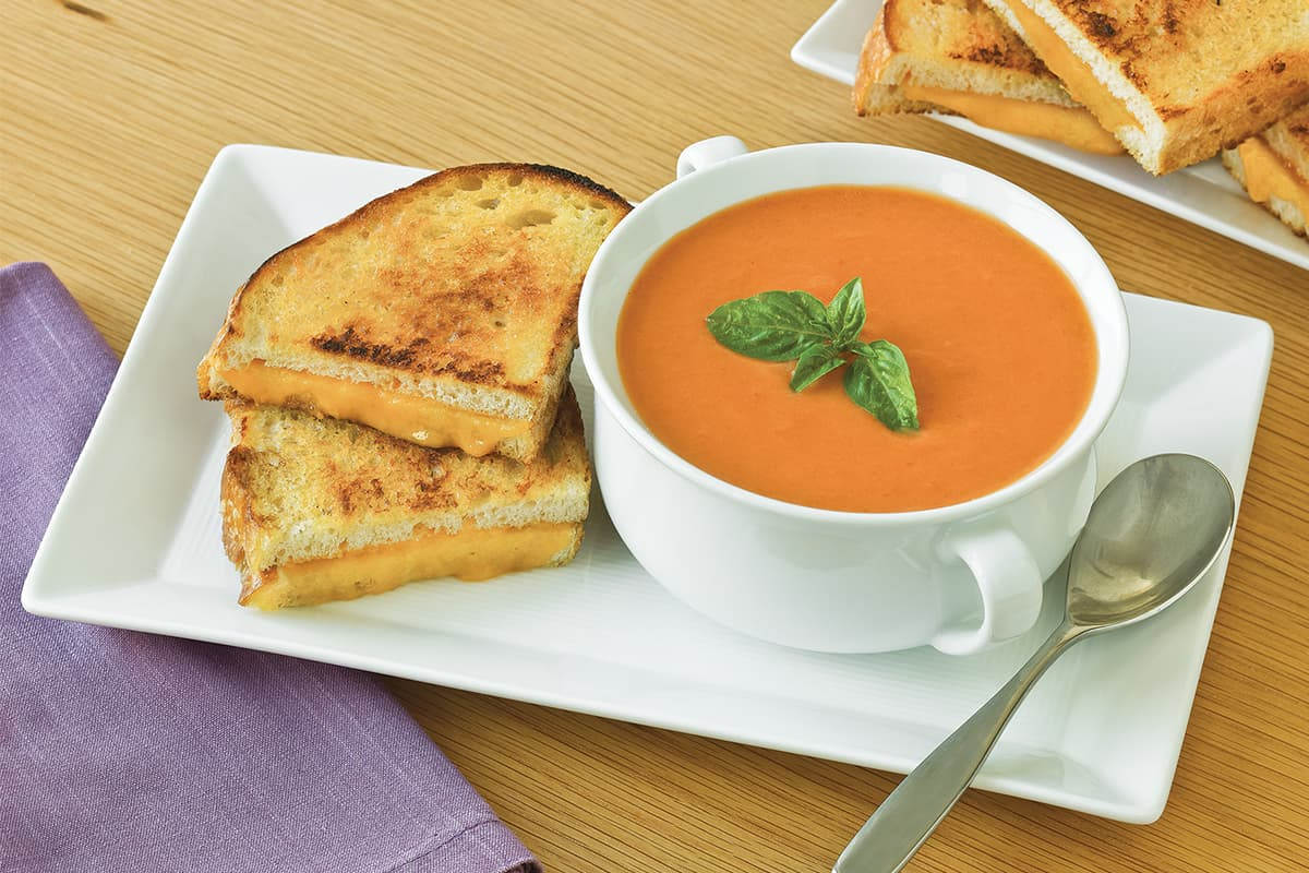 Cream of Tomato Basil Soup