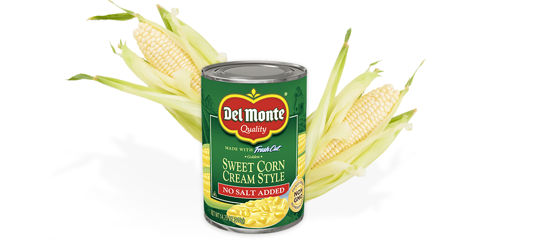 Cream Style Golden Sweet Corn - No Salt Added