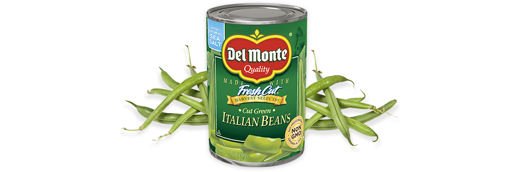 Cut Italian Green Beans   Del Monte