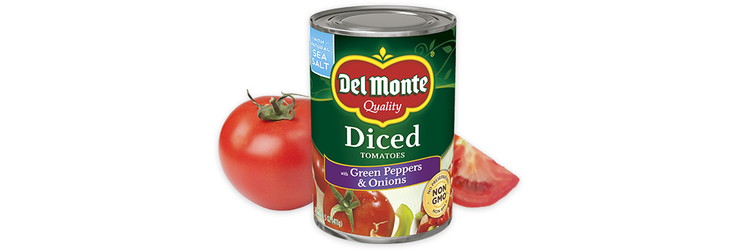 Diced Tomatoes with Green Pepper & Onion