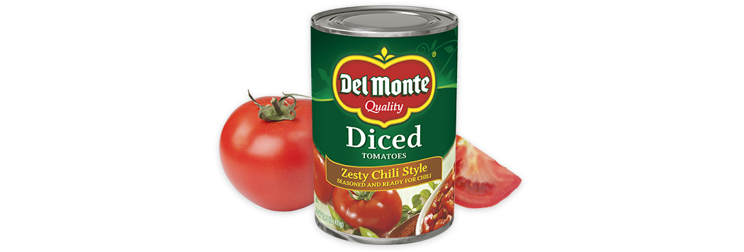 Diced Tomatoes - Zesty Chili Style