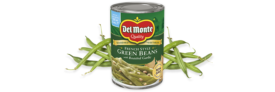 French Style Green Beans with Roasted Garlic