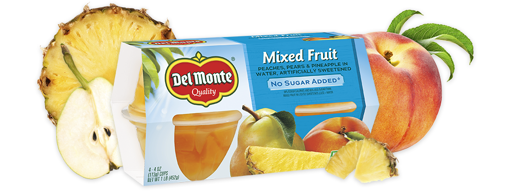 Mixed Fruit - No Sugar Added, Fruit Cup® Snacks
