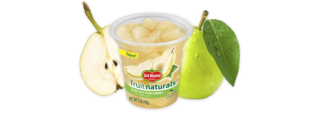 Fruit Naturals® Pear Chunks in Extra Light Syrup