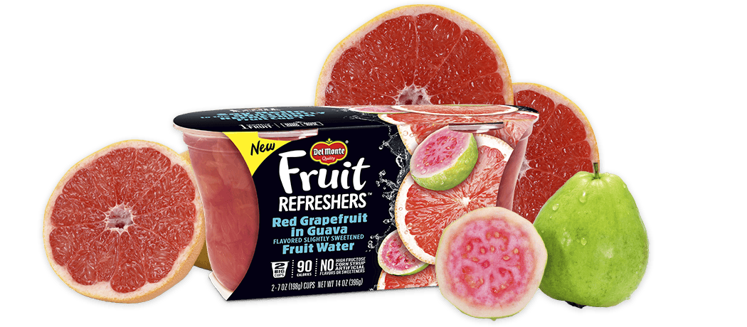 Fruit Refreshers™ Red Grapefruit in Guava Flavored Slightly Sweetened Fruit Water