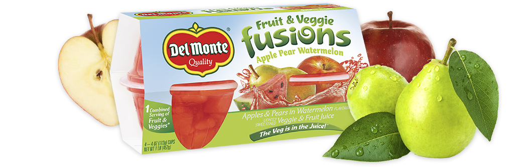 Apple Pear Watermelon, Del Monte® Fusions