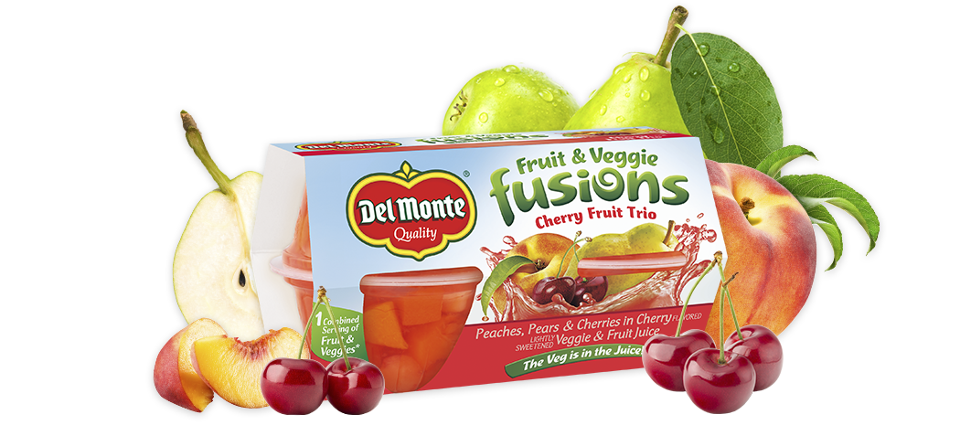 Cherry Fruit Trio, Del Monte® Fusions