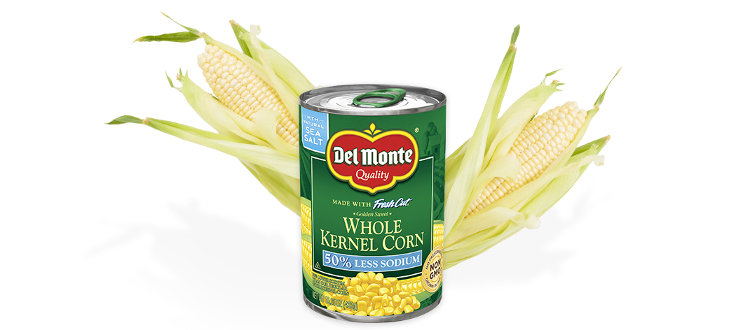 Golden Sweet Whole Kernel Corn - Low Sodium