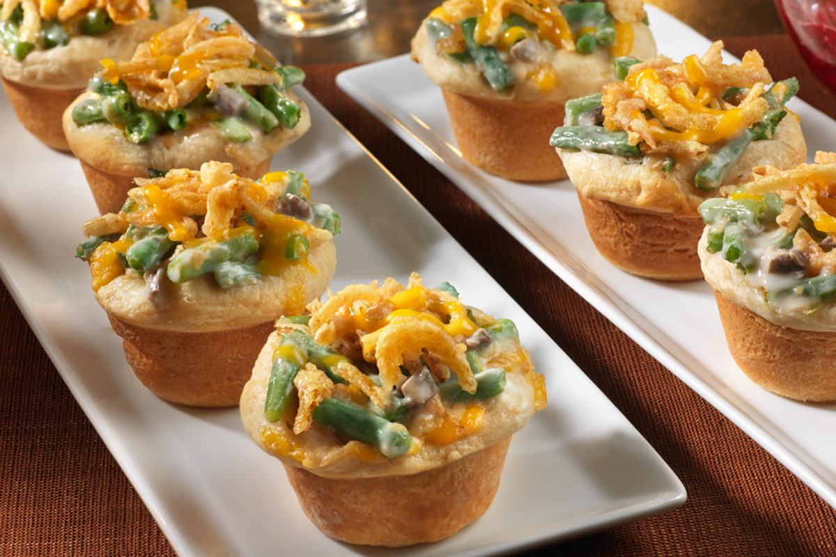 Mini Green Bean Casseroles
