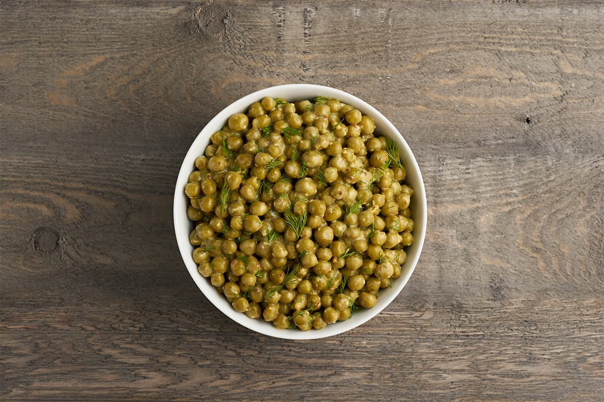 Sides in 5: Honey Mustard Peas