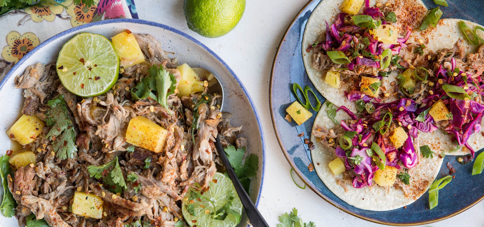 Instant Pot® Pineapple Pulled Pork