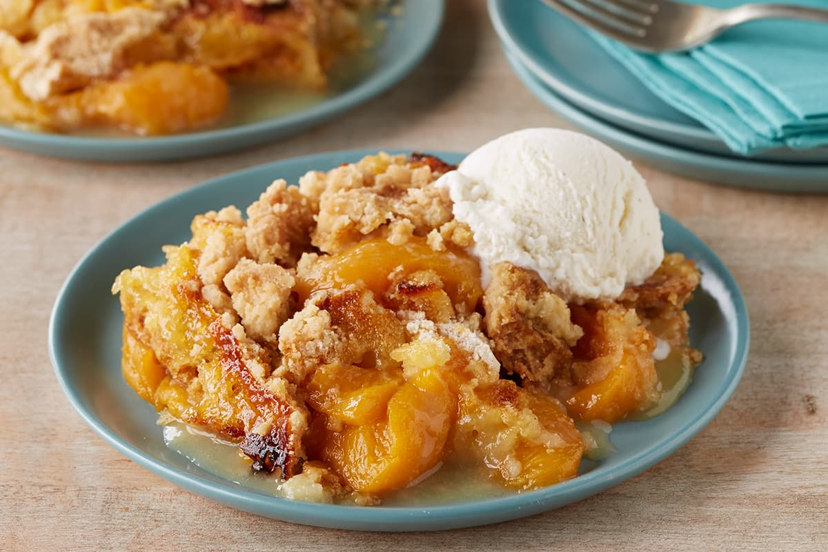 Canned Peach Cobbler Recipe With Cake Mix
