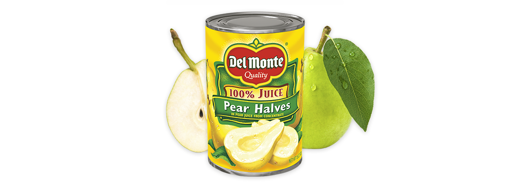 Pear Halves in 100% Juice