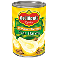Cinnamon Flavored Pear Halves