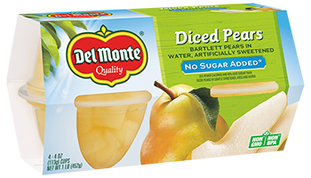 Pears - No Sugar Added, Fruit Cup® Snacks