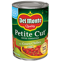 Petite Cut® Diced Tomatoes with Hatch Green Chilies