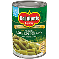 Pickled Green Beans with Dill Flavor