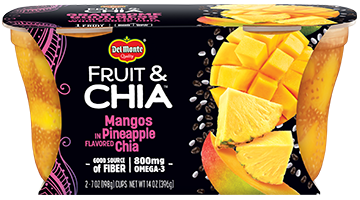 Fruit & Chia™ Mangos in Pineapple Flavored Chia