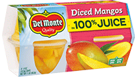 Diced Mangos in 100% Juice, Fruit Cup® Snacks