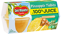 Pineapple Tidbits in 100% Juice, Fruit Cup® Snacks