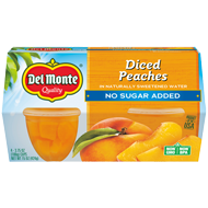 Peach Fruit Cup® Snacks - No Sugar Added