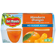 Mandarin Oranges Fruit Cup® Snacks - No Sugar Added